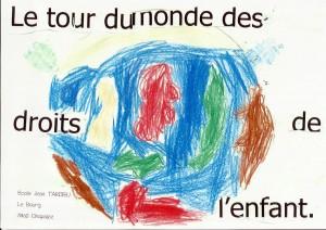 Chapaize - Le tour du monde des droits de l'enfant 01