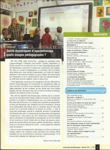 AE222 - Outils numériques d'apprentissage, quels usages pédagogiques - N°222 Mai-juin 2011 - Sommaire