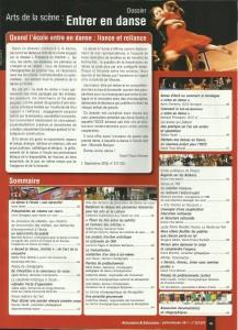 AE223 - Art de la scène, Entrer en danse - N°223-224 Juillet-Octobre 2011 - Sommaire