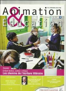 AE228 - Enfant lecteur, auteur, critique, Les chemins de l'écriture littéraire - N°228 Mais-juin 2012