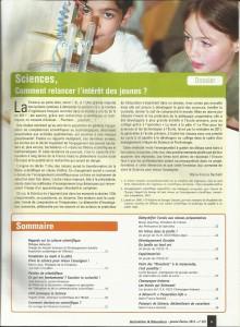 AE232 - Sciences Comment relancer l'intérêt des jeunes - N° 232 Janvier-Février 2013 - Sommaire
