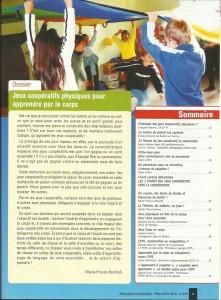 AE239 - Jeux coopératifs physiques pour apprendre par le corps - N°239 Mars-Avril 2014 - Sommaire
