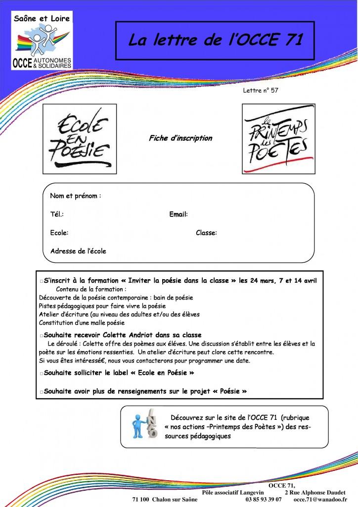 lettre n°57 - 3 Mars 2015 - Printemps des poètes - 02