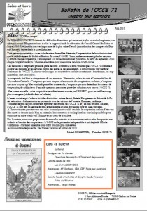 Bulletin juin 2010