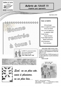 Bulletin septembre 2010