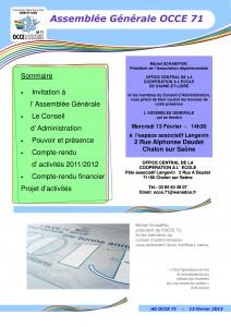 OCCE1 Bulletin AG 2013 p1