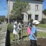 Apprendre en jardinant - Ecole de Germolles-sur-Grosne