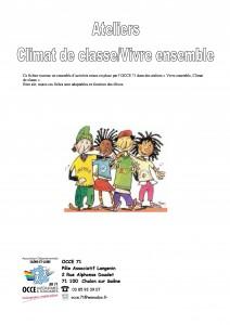 Ateliers Climat de classe - Vivre ensemble
